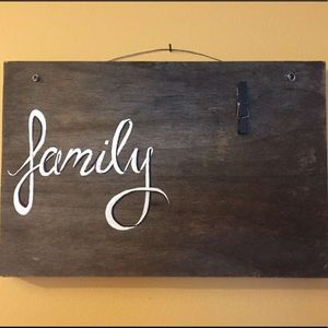 Other - Handmade wooden signs